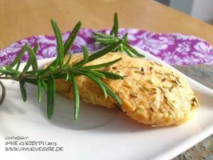 Rosmarin-Käse-Kräcker, ayurveggie, imke christoph, ayurveda kochschule, vegetarisch kochen, vegetarische rezepte
